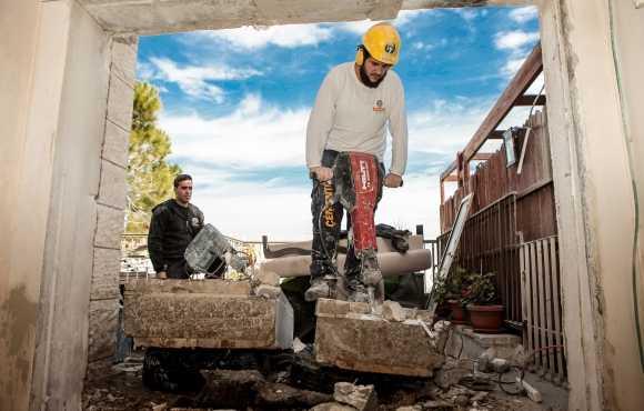 פרויקט ניסור בטון בירושלים